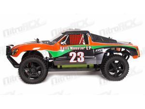 1/10 2.4Ghz Exceed RC Electric Rally Monster RTR Off Road Rally Truck Carbon Orange