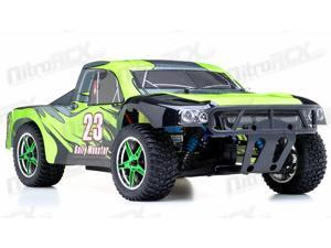 1/10th 2.4Ghz Brushless Exceed RC Rally Monster Electric RTR Racing Truck (DD Green)