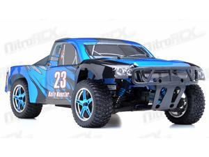 1/10th 2.4Ghz Brushless Exceed RC Rally Monster Electric RTR Racing Truck (DD Blue)