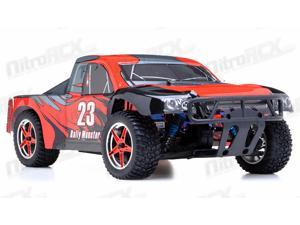 1/10th 2.4Ghz Brushless Exceed RC Rally Monster Electric RTR Racing Truck (DD Red)