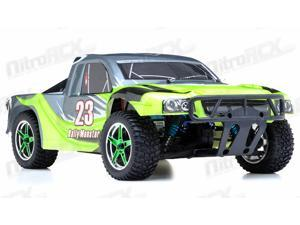 1/10th 2.4Ghz Brushless Exceed RC Rally Monster Electric RTR Racing Truck (AA Green)