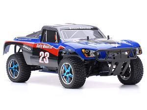 1/10 2.4Ghz Exceed RC Rally Monster Nitro Gas Powered RTR Off Road Rally Car 4WD Truck Carbon Blue