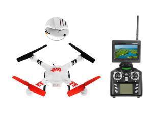 WL Toys V686G 5.8 FPV Headless Mode 4ch RC Quadcopter Drone with 2MP Camera w/4GB Memory Card