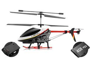 UDI U12A RC 3 Channel Helicopter Metal Version Electric w/ Camera with 4GB Memory card