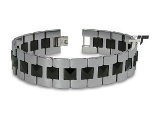 Tungsten Gladiator Men's Link Bracelet