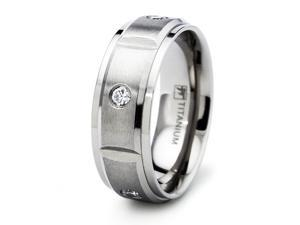 Titanium Wedding Band Ring