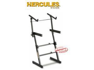 HERCULES AUTO LOCK EZ LOCK 2 TIER KEYBOARD STAND KS410B