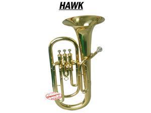 Hawk Lacquer Brass Bb Baritone Horn WD-BT511