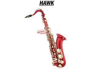 Hawk Red Tenor Saxophone WD-S411C-RD