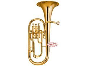 Student 3 Valves Gold Lacquered Baritone Horn SBAR