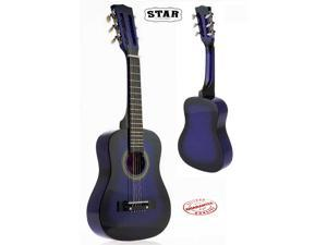 Star Kids Acoustic Toy Guitar 27 Inches Color Purpleburst