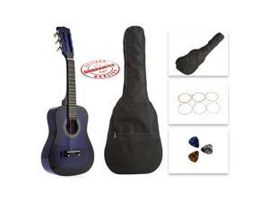 Star Kids Acoustic Toy Guitar 27 Inches Purpleburst with Bag, Strings & Picks