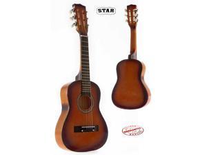 Star Kids Acoustic Toy Guitar 27 Inches Color Sunburst