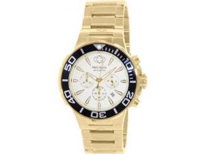 Swiss PX14012 Precimax Instinct Pro Men's Gold Stainless-Steel Quartz Watch with Gold Dial
