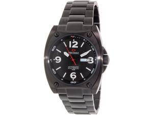Precimax PX13207 Men's Fortis Automatic Black Stainless-Steel Watch