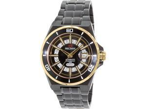 Swiss Precimax Stark Automatic PX13215 Men's Black Stainless-Steel Automatic Watch with Black Dial