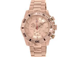 Swiss Precimax SP13258 Crew Pro Men's Rose-Gold Stainless-Steel Swiss Chronograph Watch