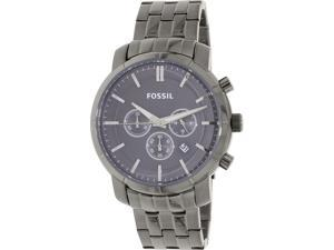 Fossil BQ1282 Men's Other-Me Silver Stainless-Steel Quartz Watch