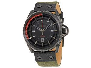 Diesel Men's Rollcage DZ1728 Black Cloth Quartz Watch