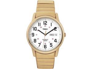 Timex Men's | Gold-Tone Case & Band w Day/Date | Easy Reader Watch T20471