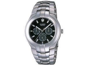 Men's Casio Dress Edifice Multifunction Steel Watch EF304D-1AV