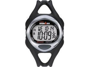 Timex Men's T54281 Black Resin Quartz Watch with Black Dial