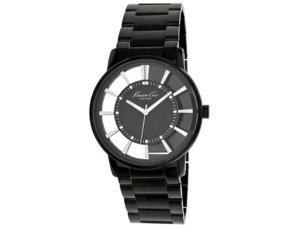 Kenneth Cole Men's Newness KC3994 Black Stainless-Steel Quartz Watch with Black Dial