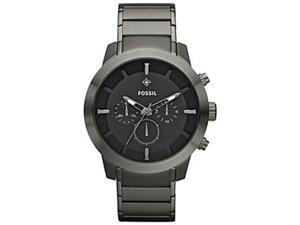 Fossil Men's FS4680 Stainless-Steel Quartz Watch with Black Dial