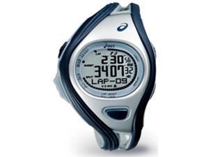 Asics CQAR0302 Unisex Challenge Blue Polyurethane Quartz Watch with Silver Dial