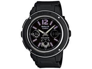 Casio BGA150-1B Women's Baby-G Quartz Watch - Black