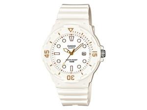 Casio Women's LRW200H-7E2V White Resin Quartz Watch with White Dial