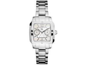 Guess Women's I43000L1 Silver Stainless-Steel Quartz Watch with Mother-Of-Pearl Dial