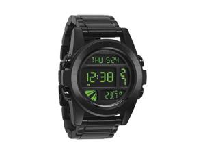 Nixon Men's A360032-00 Black Stainless-Steel Quartz Watch with Digital Dial