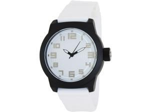Kenneth Cole Reaction Men's RK1311 White Silicone Quartz Watch with White Dial