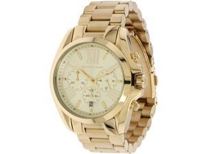 Michael Kors Bradshaw Chronograph Gold Tone Womens Watch MK5605