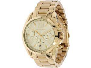 Michael Kors Bradshaw Chronograph Gold Tone Womens Watch MK5605