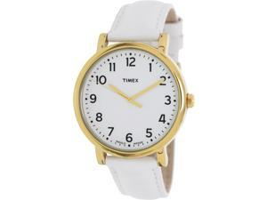 Timex Mens Originals T2P170 White Stainless-Steel Quartz Watch with White Dial
