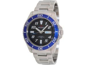 Swiss Precimax PX13222 Aqua Classic Automatic Men's Black Dial Stainless Steel Analog Watch