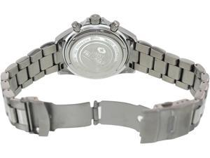 Swiss Precimax Men's Maritime Pro SP12190 Silver Stainless-Steel Swiss Chronograph Watch with Black Dial