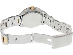 Fossil Women's Cecile AM4496 Two-Tone Stainless-Steel Quartz Watch with White Dial