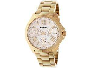 Fossil Women's Cecile AM4511 Rose-Gold Stainless-Steel Quartz Watch with Rose-Gold Dial