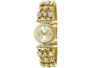 Guess Women's U0220L2 Gold Stainless-Steel Quartz Watch with Gold Dial