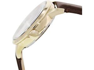 ME3043 Fossil Townsman Automatic Brown Leather Mens Watch
