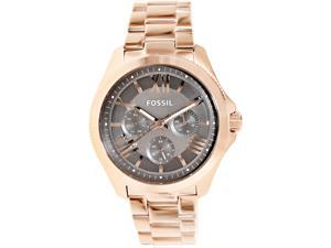 Fossil Women's Cecile AM4533 Rose-Gold Stainless-Steel Quartz Watch with Brown Dial