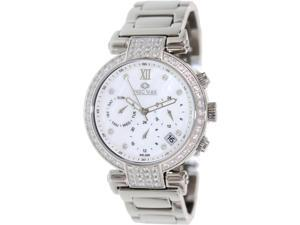 Precimax Women's Siren Elite PX13337 Silver Stainless-Steel Quartz Watch with Mother-Of-Pearl Dial