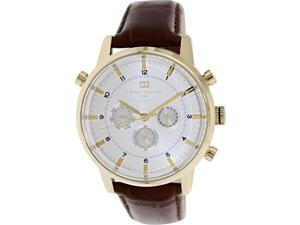 Tommy Hilfiger Croc-Embossed Leather Chronograph Mens Watch 1790874