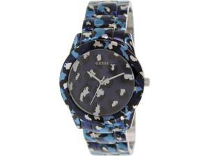 Guess Women's U0425L1 Multicolor Stainless-Steel Quartz Watch with Blue Dial