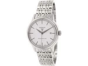 Tissot Men's Carson T085.407.11.011.00 Silver Stainless-Steel Swiss Quartz Watch with Silver Dial