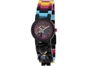 Lego Children's Lego Movie 9009990 Multicolor Plastic Quartz Watch with Black Dial