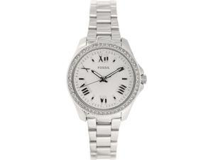 Fossil Cecile Quartz Analog Silver Dial Women's's Watch AM4576